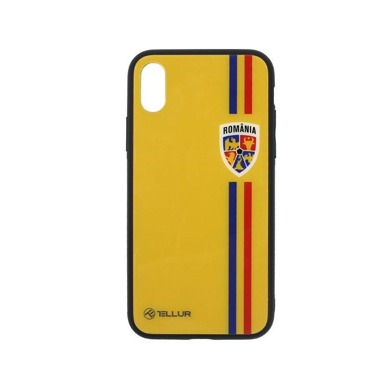 Husa telefon iPhone X Tricolor imagine