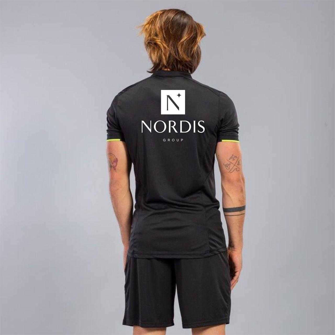 Tricou Arbitru Negru Nordis imagine