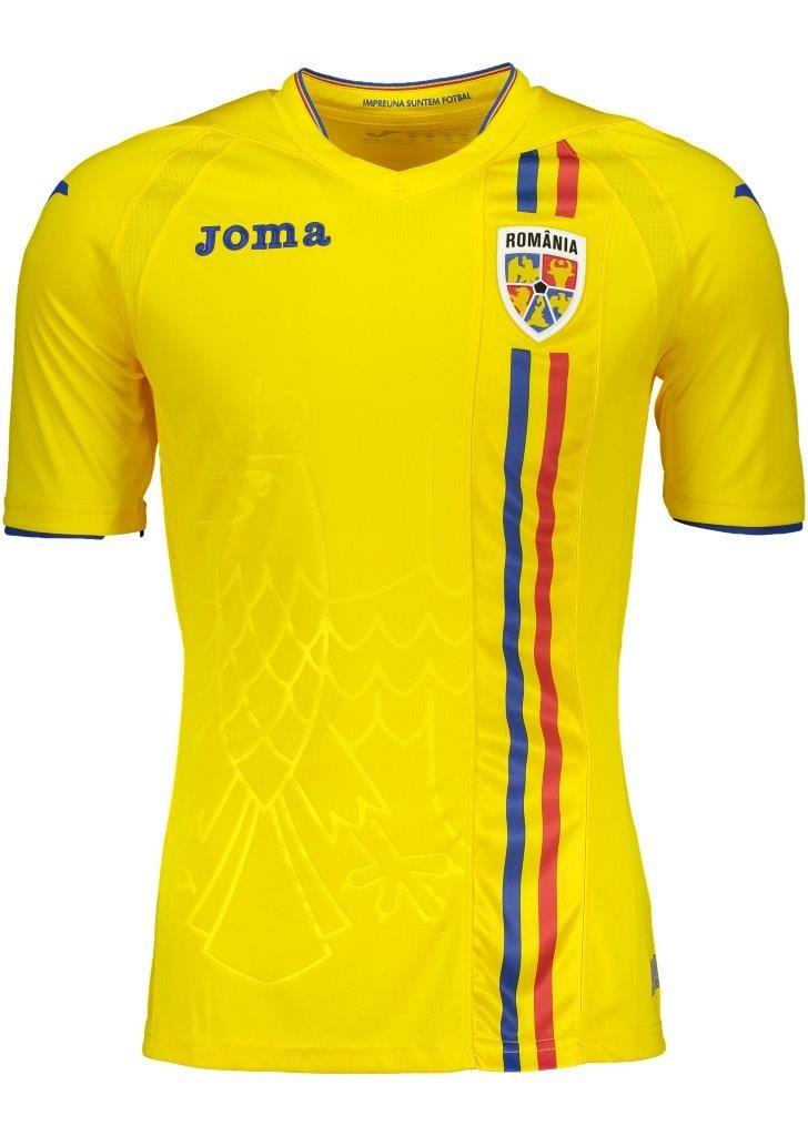 Tricou Joc Galben Romania imagine