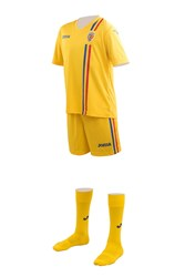 Imagine de Kit Suporter  Galben Copii Romania 2-16 ani